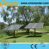 Panneaux solaires montés au sol pour la maison