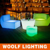 Sofa-Stuhl-Möbel des Freizeit-Glühen-Plastik-LED