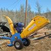 La gasolina potente trituradora trituradora de madera y máquina de corte de madera