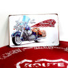 Корабль металла знака мотоцикла сбор винограда металлической пластинкы стены печатание изготовленный на заказ