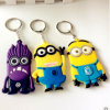 2016 Hot Selling Custom Silicon Plastic Keychain du fournisseur