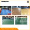 마루, 농구장 PVC 마루를 위한 비닐 표면이 고품질 댄스 플로워 비닐 PVC 롤 체조 매트에 의하여