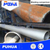 Tubo de acero Qgw Rueda de la pared exterior de la máquina de granallado