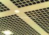 Het vuurvaste Plafond van het Net van het Aluminium voor het Ziekenhuis en Wandelgalerij