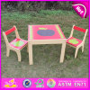2015新しいWooden Children TableおよびChair、Kids TableおよびChair Set、Fancy Wooden TableおよびChair W08g159