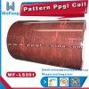 Bobina de acero especial del patrón PPGI para el material de la casa del envase