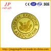 Moneda de oro plateada de metal de la alta calidad para el honor