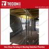 Sistema de andamios de encofrado de losa de hormigón