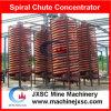 Equipamento de concentração Zircon Concentrador da portinhola de espiral, planta de concentração de areia de praia
