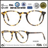 Vente en gros optique de la Chine de lunetterie d'acétate rond de nouveaux produits