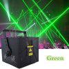 luz laser 15kpss DMX de la animación verde de 100MW mini