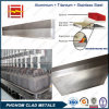 アルミニウム製錬所のためのアルミニウムステンレス鋼の転移の挿入