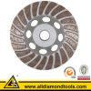 Turbo алмазные шлифовальные чашки колеса на бетонный пол