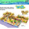 Playground Indoor grande escala com brandamente Play (HD-8402)