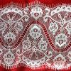 A tela de nylon agradável a mais atrasada do laço da pestana para vestidos das mulheres