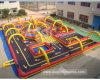 Jogos de desporto insufláveis pista de corridas de automóveis (AQ16150)