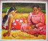 Olieverfschilderij, Gauguin Olieverfschilderij, de Reproductie van het Olieverfschilderij