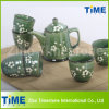 Hand Paintedの高いQuanlity Tea Set