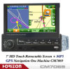 Audio del coche, GPS, MP5, con la pantalla retractable (CM7069)