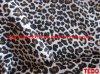 100%Poly印刷の生地のヒョウの印刷物(TFR12006)