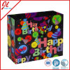 Elemento portante di acquisto con Prinitng su ordinazione e sacco di carta del regalo di lusso della maniglia della maniglia della corda per il compleanno