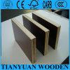 La película de materiales de construcción de madera contrachapada frente