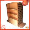 De houten KleinhandelsVertoning van de Gondel van de Kleding Opschortende voor Opslag