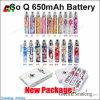E 담배, 전자 담배, 다른 색깔 650에 있는 자아 꽃 건전지 Q 900 1100 mAh