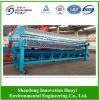 Diafragma / prensa de filtro de membrana para resíduos de lodo de água