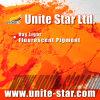 La lumière du jour de pigment fluorescent jaune orange pour l'impression textile couleur coller