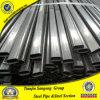 Condutture ovali ellittiche d'acciaio saldate il nero laminate a freddo