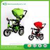 2017人の新しい子供の赤ん坊の三輪車は/安く価格子供のための後部席/3つの車輪の三輪車が付いている金属の三輪車をからかう