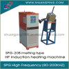 máquina de derretimento Spg-20b da indução de alta freqüência de 20kw 200kHz