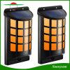 Lumières imperméables à l'eau extérieures de clignotement Marche/Arrêt automatiques de frontière de sécurité de danse de flamme de détecteur foncé solaire de lumière