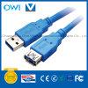 USB 3.0 um macho a um cabo fêmea