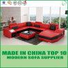 Кровать софы Divaani самомоднейшей живущий комнаты кожаный