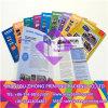 Brochure de catalogue de papier de couleur d'impression