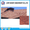 標準的な石は上塗を施してある金属の屋根瓦の現代タイルを欠く