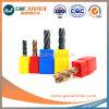 2.5X8X50 Molens van 4/6 Eind van de Fluit van het Carbide HRC45-65 van het wolfram de Vlakke