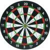 Профессиональный стиль 15 Загустеет кнопки Двусторонняя Flocking Dartboard бумаги