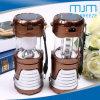 Портативный 6+1 светодиодный светильник&аккумулятор кемпинг фонари с солнечной