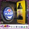 L'acrylique annonçant la bouteille à bière 3D DEL signe le cadre léger
