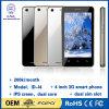 Venta caliente de 4 pulgadas Smartphone 3G de doble núcleo Android 4.4 Mtk6572