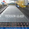 vidro de flutuador desobstruído desproporcionado de 10mm e vidro ultra desobstruído