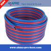 Tuyaux d'air à haute pression tressés de jet de fibre de Plastic/PVC
