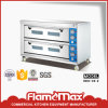 2-Deck 6-Tray elektrischer Backen-Ofen