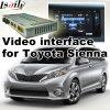 Relação video do carro para 2016 ou Sienna mais atrasado de Toyota, parte traseira Android da navegação e panorama 360 opcionais