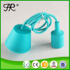 Bricolaje azul colgante de silicona Industrial para el exterior de la luz