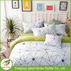 カスタムポリエステル綿の寝具の一定のリネンキルトカバー