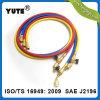 Yute certifié UL 800psi SAE J2196 1/4 le flexible de charge de fluide réfrigérant